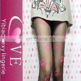 Woman Shiny Pantyhose Tights