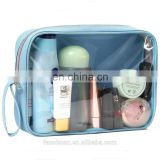 Oxford Fabric Cosmetic Clear Makeup Bags for Travel Packing Cubes