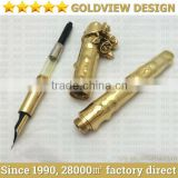 luxury 24ct gold pen 24k gold plated, goldview gold plating factory direct