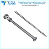 Single screw and barrel for extrusion machine