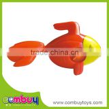New items baby bath toy wind up plastic goldfish toy