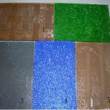 Colored Figured Glass, Tinted Pattern Glass, for Decorative Art Glass