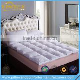 Anti-Dustmite Full Size White Duck Feather Mattress Topper