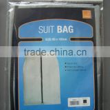 Customized New view mens leather suit cover/ disposable garment bag
