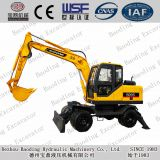 Baoding 95W-9 wheeled excavator new upgrade