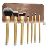 7pcs private label facial cleansing makeup cosmetic brush set face make up wholesale