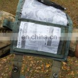 Tactical Military battle tested Waterproof Wrist Map Document Case pouch