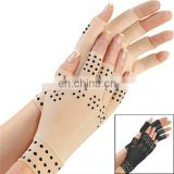 Magnetic Anti-Arthritis Therapy Magic Fingerless Palm Hand Massage Gloves