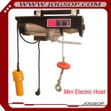 small overhead electric hoist/mini electric rope hoist/portable electric cable hoist high quality