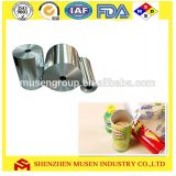 Aluminum foil for food Can /Tube / bottle /cup lid sealing with FDA