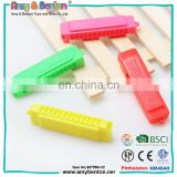 Promotional Small whistle plastic kids gift harmonica toy for sale