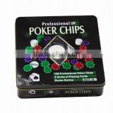 100pcs Poker Set / roulette poker game set