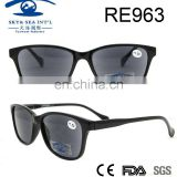 2017 spring newest fashion solid black wholesale PC reading sunglasses