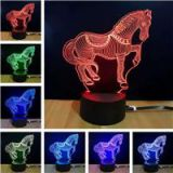 M.Sparkling TD068 Creative 3D LED Lamp USB Touch Light Decoration Light