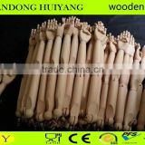 Flexible display store fixture adjustable whole sale mannequin wooden arms