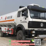 310hp engine 6x4 drive 25000Liters Beiben Fuel Tank Truck for sale