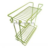 Nano coating double layer kitchen shelf kitchen rack kitchen accessories BH-B092