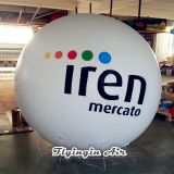 White Advertising Inflatable Helium Balls Air Balloons with Logo for Business