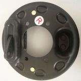 Rear drum brake for electric car,mechanical with automatic adjustment