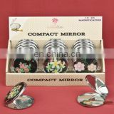 FLORAL DESIGN MIRROR COMPACTS