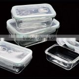 Pyrex Container with Airtight Lid, Rectangular Box, 1040ml
