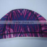 nylon lycra swimming cap