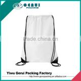 Rope Handle Style and Polyester,Nylon/Polyester Material Cheap Custom Drawstring Bags
