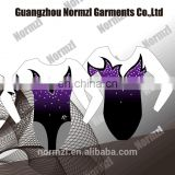 Custom design dance leotards for girls rhythmic gymnastics leotards for sale