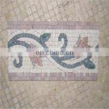 Popular marble mosaic border pattern
