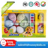 Easter party colorful painted plastic decoration eggs present gift