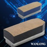 Diamond fickert for stone slab grinding, diamond grinding brick tools for grantie and marble grinding and polishing