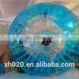 HOT sale Popular TPU/PVC 3m Color inflatable zorb ball