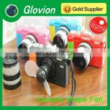 Best seller summer novelty handheld Mini Camera Shaped Fan