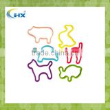 MA-423 2013 popular various design and different themes animal silicone silly bands