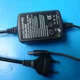 12V 12W AC DC Adapter,two side wire  for LED Light strips,CCTV Camera