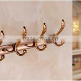 gold plated metal wall hangers