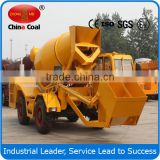 small portable 1cbm slef-loading concrete self loading mixer truck