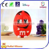 Contact Supplier Leave Messages cartoon character custom design 3d shaped waterproof animal silicone phone case