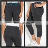 Kiteng High Performance Plus Size Capri Leggings Office In United States (USA)Small Minimum