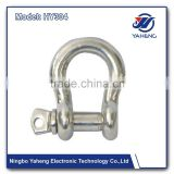 stainless steel 316 and 304 swivel bolt snap hook safety latch mini eye hooks Spraying Plastic Lifting Clevis Grab Hook