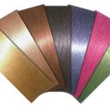 Colorful Stainless steel sheet