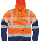 high visibility workwear jacket security guard winter jacket