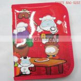 Custom High quality Printed Pencil case with compartments Wholesale