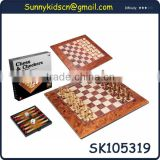 luxury wooden chess sets wooden chess pieces with EN71