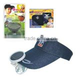 SOLAR CAP WITH FAN