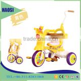Top quality 10 inch fold children tricycle with pusher