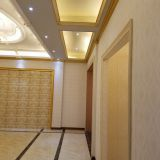 Condimea acoustic board as interior wall covering tile