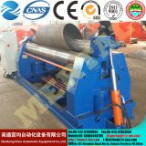 MCLW11NC-10*2000 hydraulic symmetric three roller plate rolling machine,bending mchine