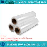 Wholesale transparent PE tray packaging stretch wrap film roll
