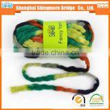 China novelty yarn manufacturer hot wholesale chunky yarn acrylic for knitting scarf
